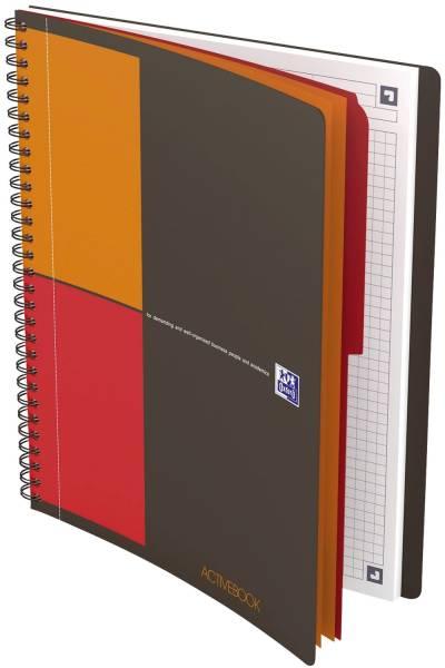 Activebook Connect Collegeblock, B5, kariert, 80 Blatt, Softcover, 4 Eckmarkierungen zum scannen