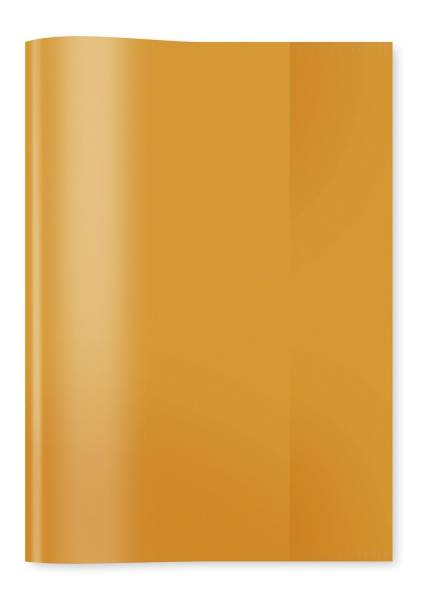 HERMA Heftschoner A5 transp. orange 7484 Plastik
