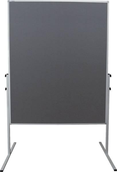 X tra!Line Moderationstafel 120 x 150 cm, grau Filz, klappbar®