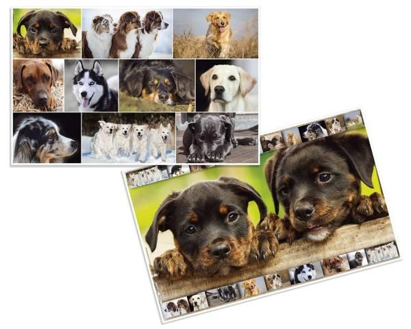 Schreibunterlage Hunde 55 x 35 cm