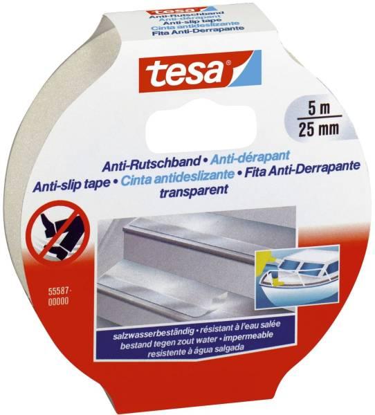 TESA Antirutsch-Klebeband 5mx25mm 55587-00000-11 transparent
