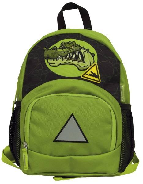 DONAU Kinderrucksack Krokodil 7290842-71