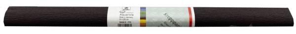 Krepppapier AQUAROLA 50 x 250 cm schwarz