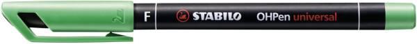 STABILO Folienschreiber OHPen F grün 842/36 permanent