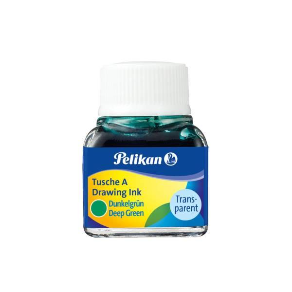 PELIKAN Tusche 10 ml dunkelgrün 201566 523-7