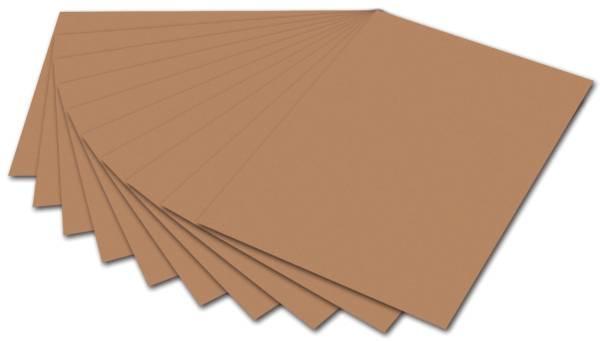 Fotokarton 50 x 70 cm, hellbraun