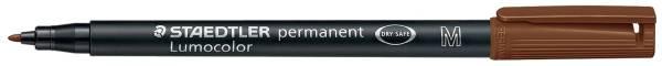 Feinschreiber Universalstift Lumocolor permanent, M, braun®