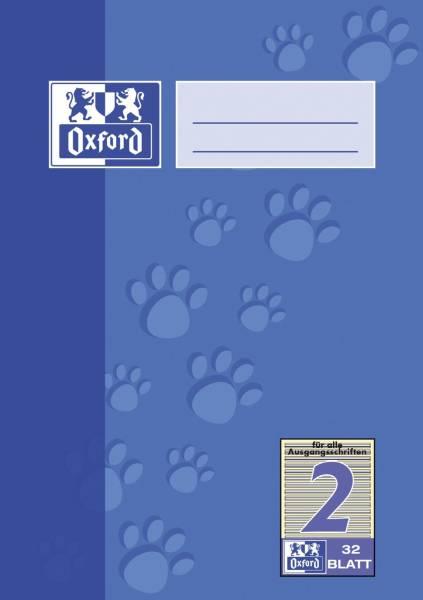 Heft A5 32 Blatt Lineatur 2