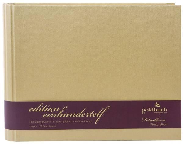 GOLDBUCH Fotospiralbuch Edition 111 gold 40756 24,5x19,5cm