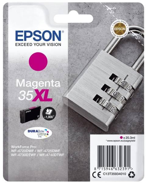 EPSON Inkjetpatrone Nr.35XL magenta C13T35934010