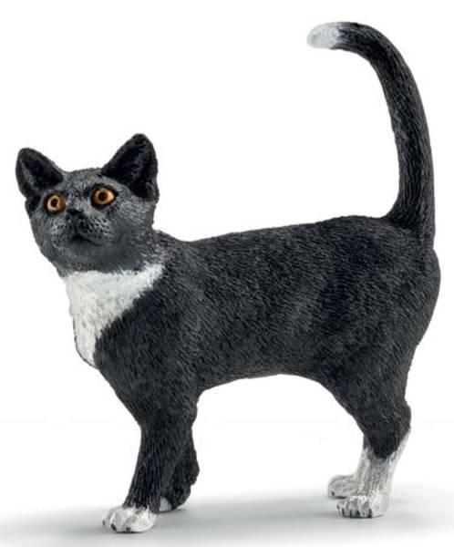 Spielzeugfigur Katze stehend