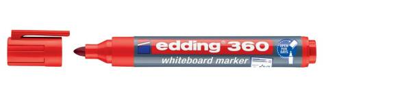 360 Boardmarker nachfüllbar, 1,5 3mm, rot