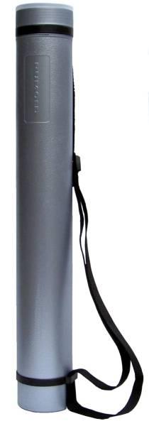 RUMOLD Planrolle Teleskop silber/schwarz ZR6614