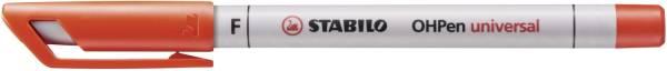 STABILO Folienschreiber OHPen F rot 852/40 wasserlöslich