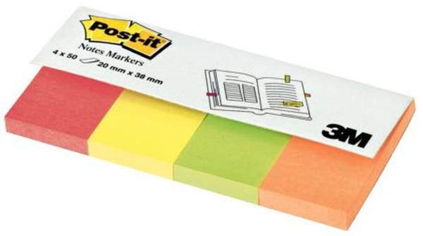 Page Marker Neonfarben, 20 x 38 mm