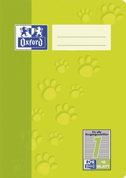 Heft A5 16 Blatt Lineatur 1