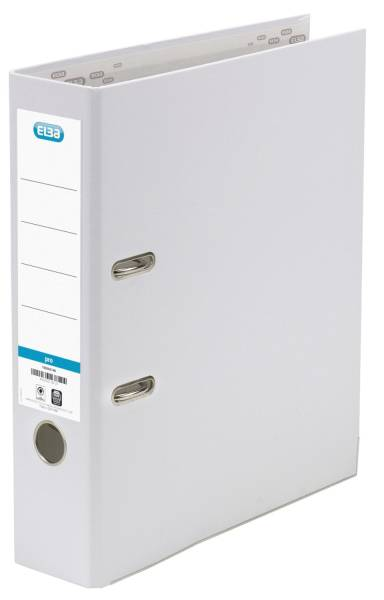 Ordner smart Pro (PP Papier) A4, 80 mm, weiß