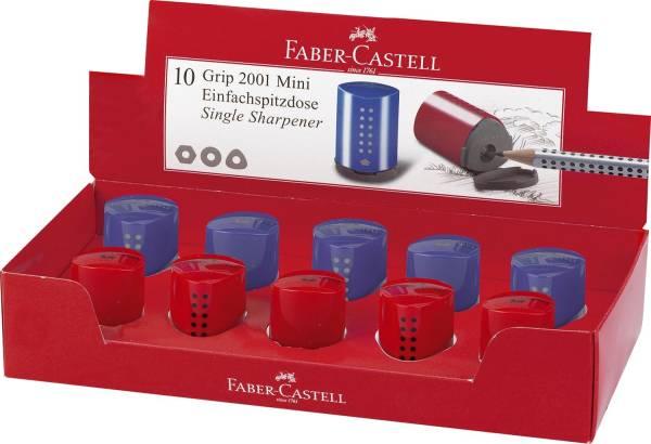 Einfachspitzdose Grip 2001 Mini rot blau