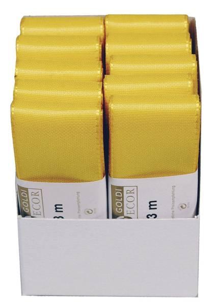 Basic Taftband 40 mm x 3 m, gelb