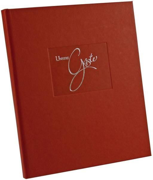 Gästebuch Seda rot