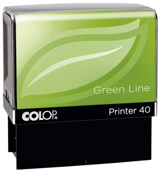 Printer 40 Green Line max 6 Zeilen, 23 x 59 mm