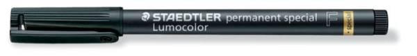 STAEDTLER Folienstift Lumocolor F schwarz 319 F-9 perm. spezial