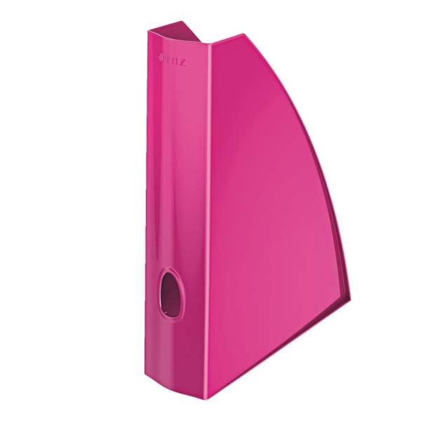 LEITZ Stehsammler A4 WOW pink metall 5277-10-23