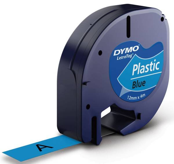 DYMO Prägeband blau/schwarz S0721650 12mm 4m