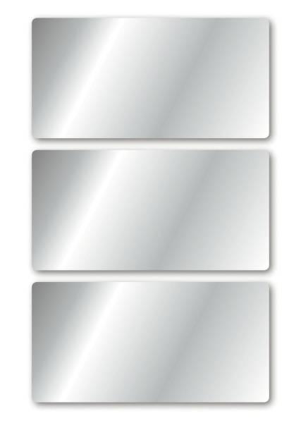 15288 Schmucketikette 34 x 67 mm, 9 Stück, silber