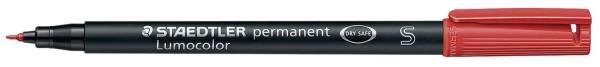 STAEDTLER Folienstift Lumocolor S rot 313-2 permanent