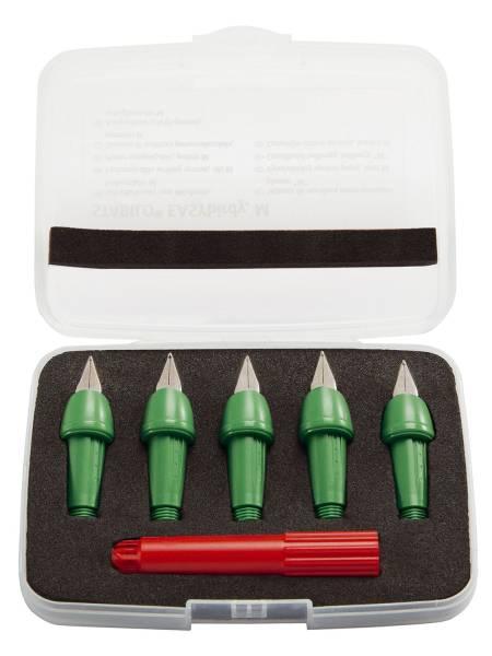 Schreibeinsatz EASYbirdy Feder M, 5 Stück, grasgrün