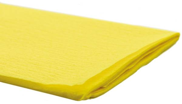 Krepppapier 50 x 250 cm gelb
