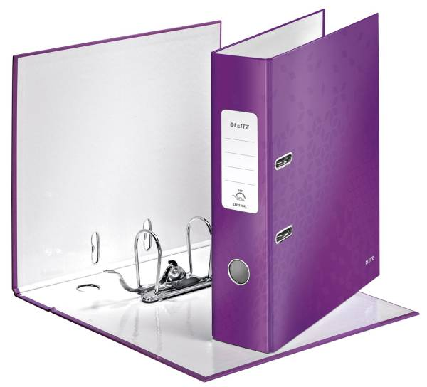 LEITZ Ordner A4 8cm Wow violett met. 1005-00-62