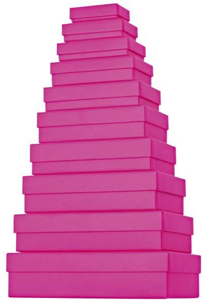 STEWO Geschenkkarton uni pink 53 7836 28