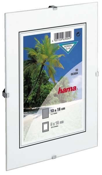 Rahmenlose Bilderhalter Clip Fix 13 x 18 cm