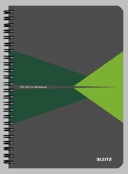 Collegeblock Office Card A5 liniert, grün