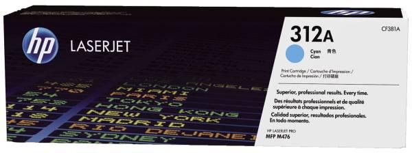 HP Lasertoner cyan Nr. 312A CF381A