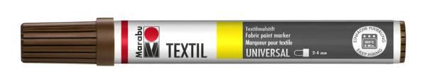 Textil Painter Mittelbraun 046, 2 4 mm