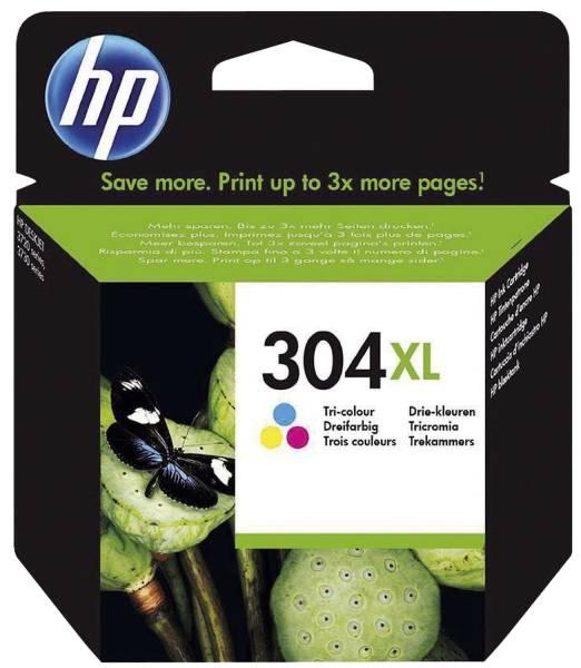 HP Inkjetpatrone Nr.304XL 3-färbig N9K07AE
