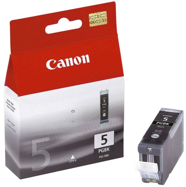 CANON Inkjetpatrone PGI-5BK schwarz 0628B001 26ml