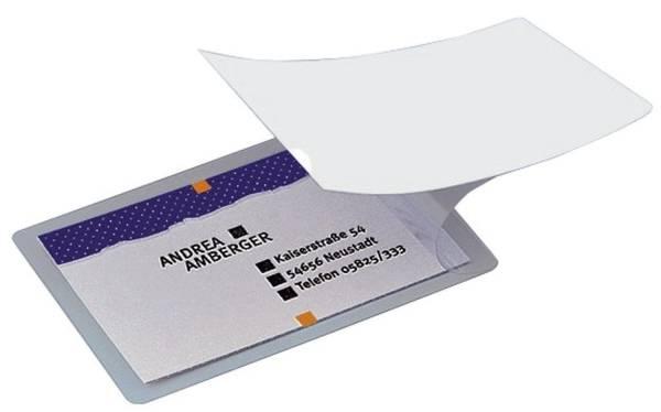 SIGEL Kalt-Laminierfolie f. Karten 100 Stück VZ215 bis Kartenformat 85x55mm
