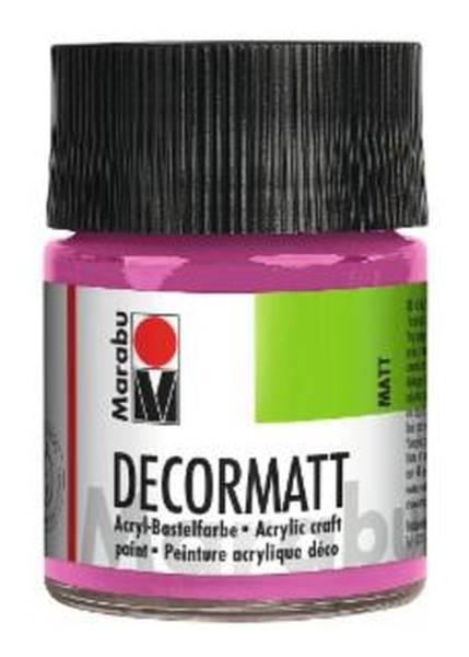 MARABU Decormatt Acryl pink 1401 05 033 50ml