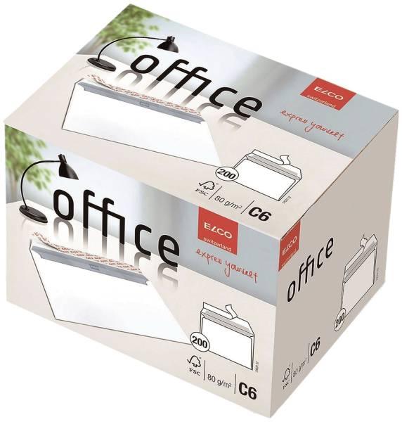 ELCO Briefhülle C6 Hk weiß 74531.12 Office 80g 200St