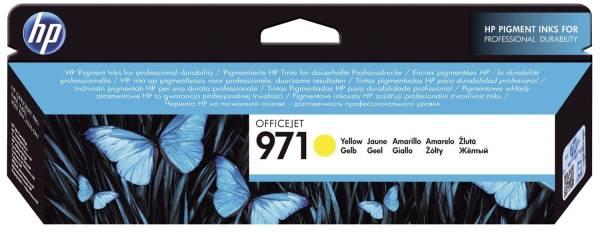 HP Inkjetpatrone Nr. 971 yellow CN624AE
