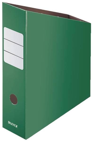 2426 Stehsammler, A4, Feinwellpappe, grün