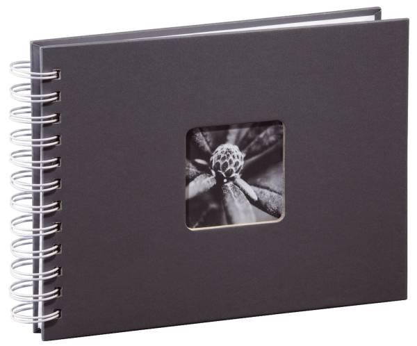 """Spiral Album """"Fine Art"""" 24 x 17 cm, für 50 Fotos im Format 10x15 cm, grau"""