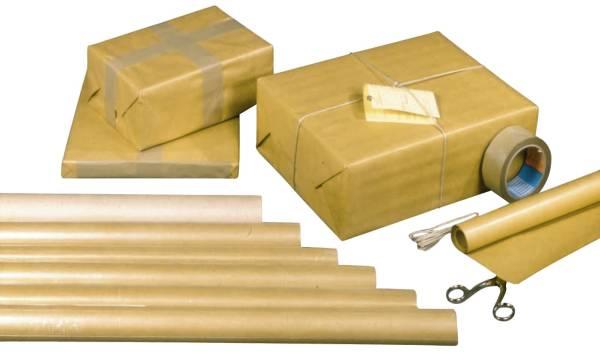 WEROLA Packpapierrolle 80g 5x1m 3305 Natronmisch