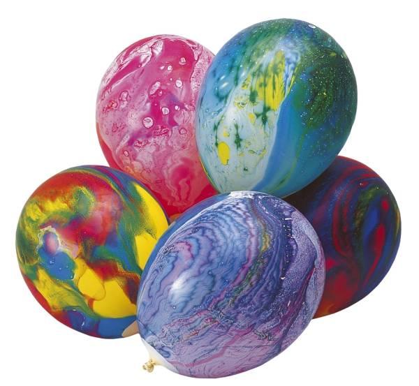 Luftballon Multicolor rund, sortiert, 8 Stück