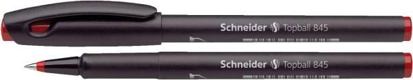 SCHNEIDER Tintenroller Topball 845 rot 184502