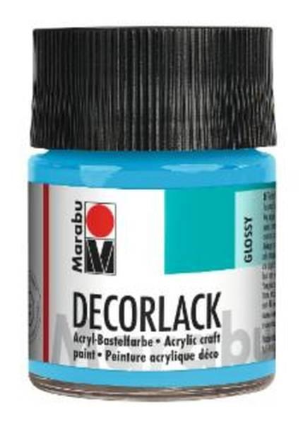 Decorlack Acryl, Hellblau 090, 50 ml